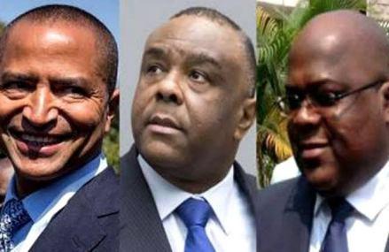 RDC-Union sacrée : une nouvelle rencontre entre Tshisekedi , Bemba et Katumbi