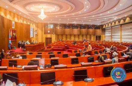 RDC: le nouveau Bureau définitif du sénat affiche complet