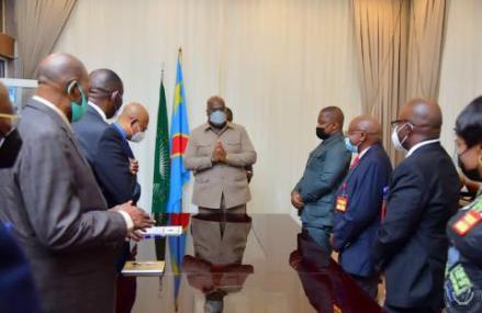RDC : Une première rencontre entre Félix Tshisekedi et les 9 juges de la Cour Constitutionnelle
