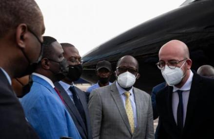 RDC : Le président du Conseil européen est arrivé à Kinshasa, un tête-à-tête prévu ce jeudi avec Félix Tshisekedi