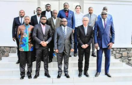 RDC-Foot : le premier ministre a reçu le nouveau sélectionneur des Léopards
