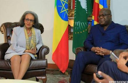 Barrage de la Renaissance : Tshisekedi sera reçu ce mardi par la présidente Éthiopienne