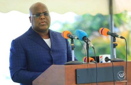 Félix Tshisekedi appelle la population de Bunia à la vigilance face à la troisième vague de la COVID-19.