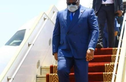 Sommet SADC : Tshisekedi est arrivé à Mozambique