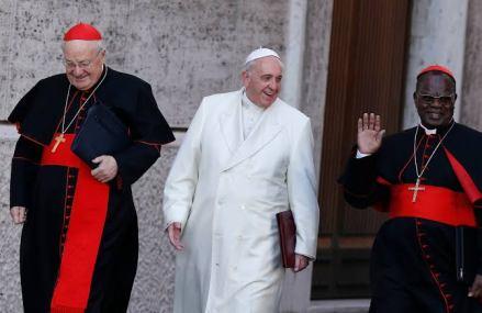 Le Pape François rend un vibrant hommage au cardinal Monsengwo