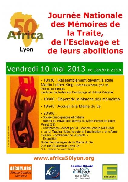 Journée Nationale des Mémoires de la Traite de l'Esclavage et de leurs Abolitions