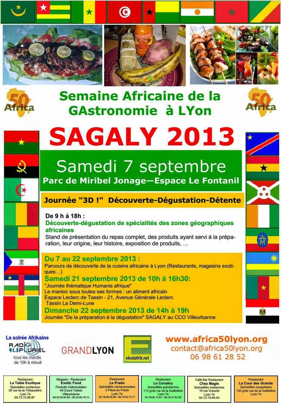 Semaine Africaine de la Gastronomie à Lyon – SAGALY 2013
