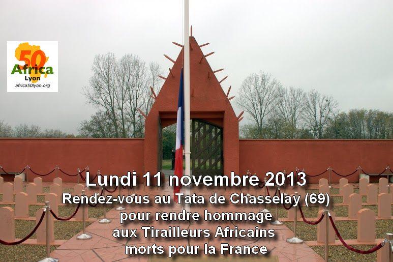 Hommage aux Tirailleurs africains au Tata de Chasselay (69)