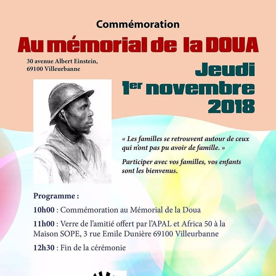 [MEMOIRE] Hommage aux Soldats Africains enterrés à la Nécropole de La Doua le 1er Novembre