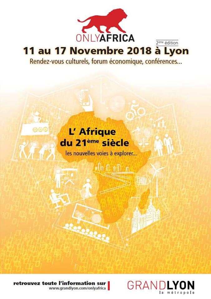 [ONLYAFRICA] La semaine de l'Afrique lancée ce 12 novembre 2018 à l'Hôtel de ville de Lyon