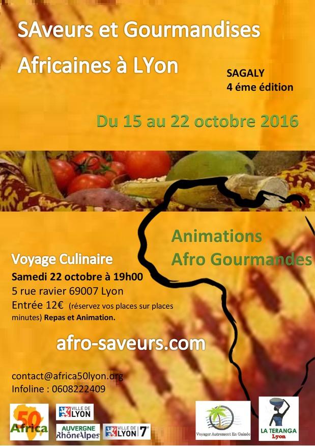 Saveurs et Gourmandises Africaines à Lyon : L'innovation des cultures africaines dans les assiettes !