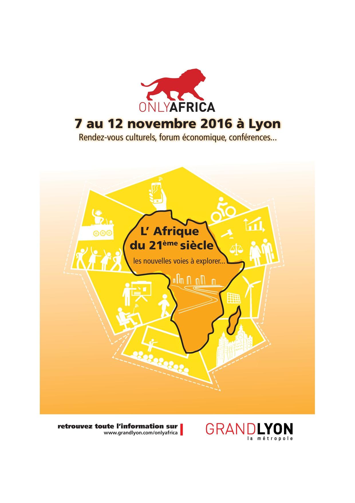 ONLY AFRICA Une semaine de présence africaine à Lyon