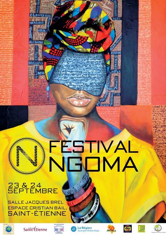 Le Festival NGOMA LES ARTS AFRICAINS à Saint-Etienne en septembre