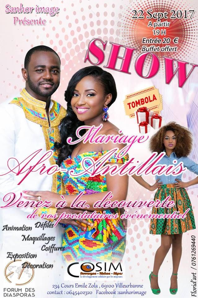 Show Mariage Afro Antillais par SANHOR IMAGE le 22 septembre 2017 à Villeurbanne