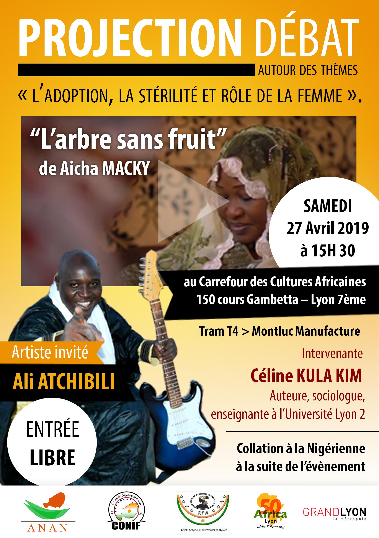 [NIGER] L'ANAN célèbre la journée de la femme nigérienne à Lyon le 27 avril 2019