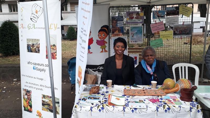 [VIE ASSOCIATIVE] Nombreux visiteurs pour découvrir Africa 50 au forum des associations du 7e le 8 septembre 2019