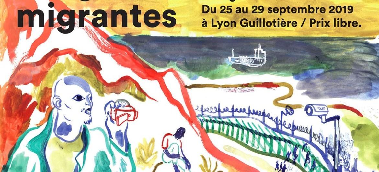 """[CINEMA] """"IMAGES MIGRANTES"""" Rencontres cinéma et migrations : du 25 au 29 septembre 2019 à Lyon"""