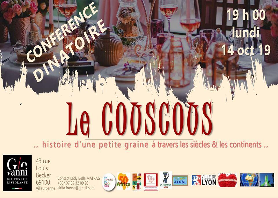 conference couscous villeurbanne