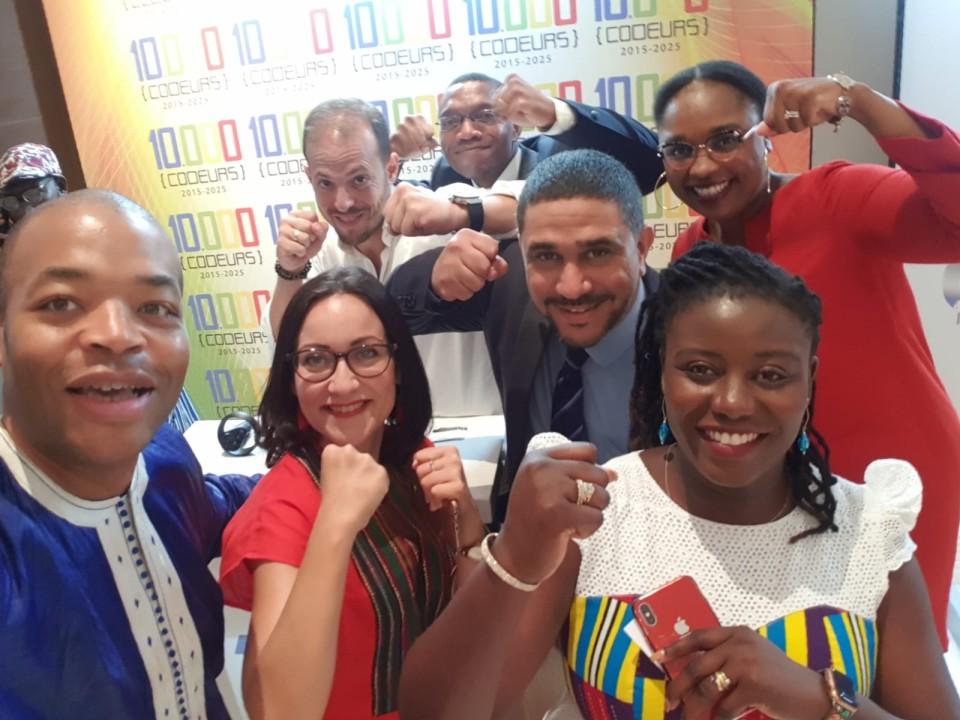 """[ECONOMIE] Retour d'expérience phase pilote """"10.000 Codeurs"""" au service de l'Emploi des Jeunes dans le numérique en Afrique à Lyon Vendredi 31 janvier 2020"""