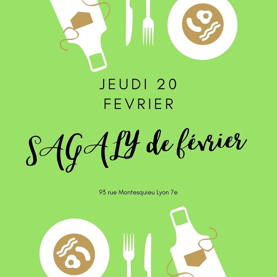 [CUISINE] Sagaly Février brochettes d'alocos et d'acras de niébé carpaccio de mangues Jeudi 20 février 2020 à Lyon
