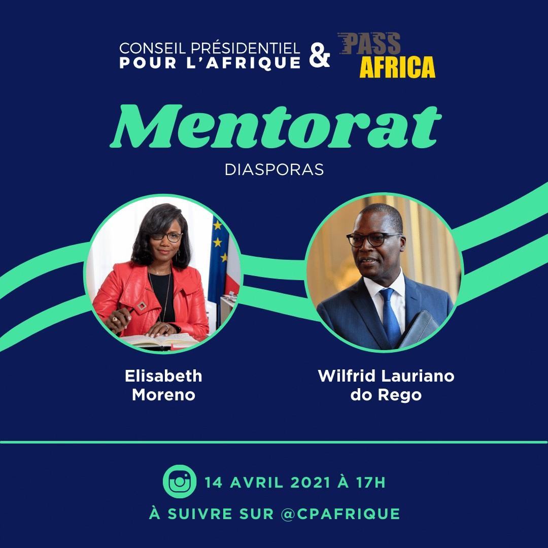 [ECONOMIE] PASS AFRICA : Doper le Mentorat pour créer des passerelles, c'est possible ! Le Collectif Africa 50 aux côtés du CPA pour le lancement du Mentorat mercredi 14 avril 2021