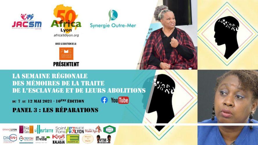 """[MEMOIRE] Emission """"LOI TAUBIRA 20 ANS APRES"""" : LES REPARATIONS (3e panel) – Lyon Mai 2010 (Vidéo)"""