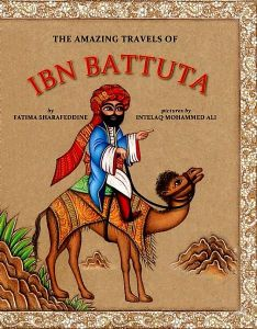 The Amazing Travels of Ibn Battuta Book Cover
