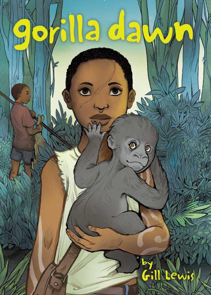 Gorilla Dawn Book Cover