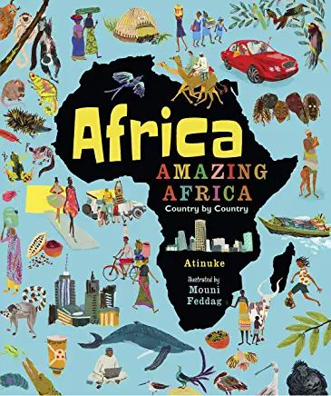Africa, Amazing Africa : Country by Country Book Cover