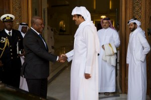 Mahama in Qatar