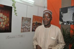 Moussa Tine: from sign painting to motifs