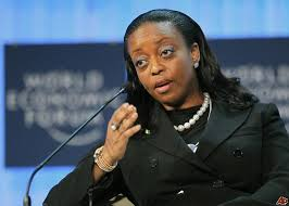 Oil minister Alison-Madueke