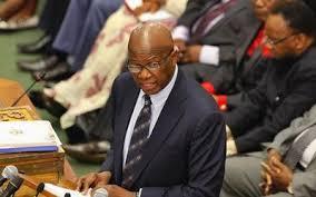 Finance minister Patrick Chinamasa