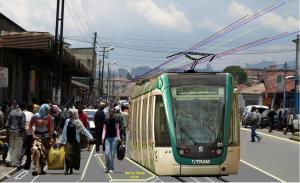The first metro rail system in sub-Saharan Africa