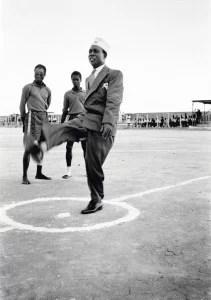 Nkrumah circa 1952 wearing his 'prison graduate' cap © James Barnor/ Autograph ABP