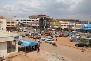 Mbarara is a growing industrial town in Uganda