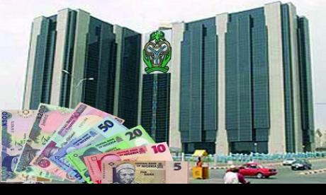 Central Bank of Nigeria: the naira has depfreciated 17 percent against the dollar in the past six months