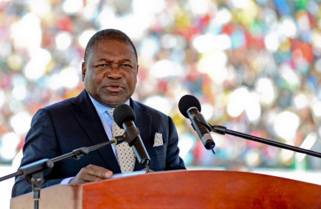 President Filipe Nyusi is drumming up his country's natural gas potential