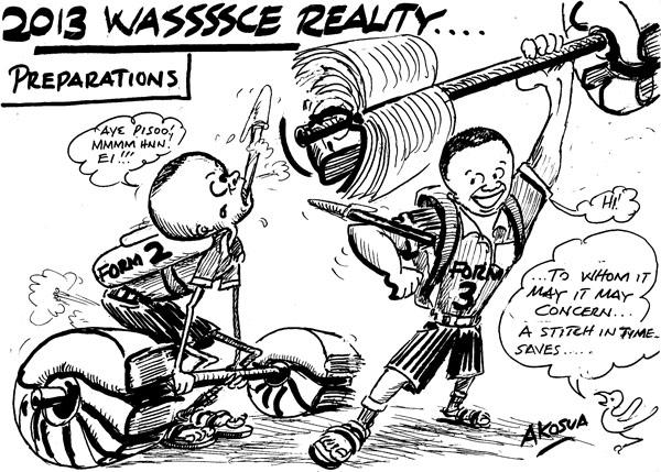 » Akosua- WASSCE Preparation Reality Africa Cartoons