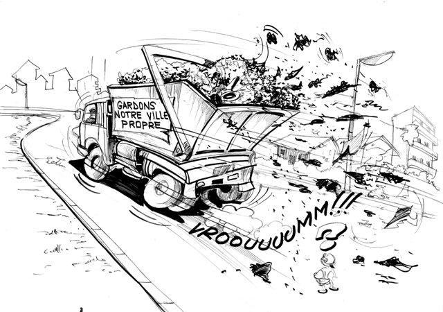 » urban Africa Cartoons