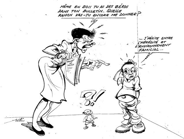 » students Africa Cartoons