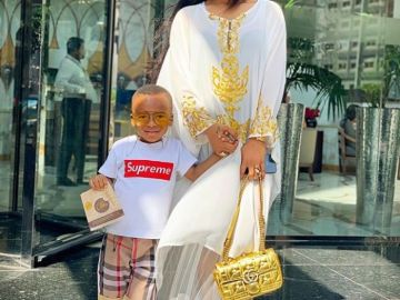 Tonto-Dikeh and son
