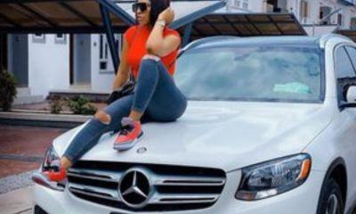 Mercy Eke new car