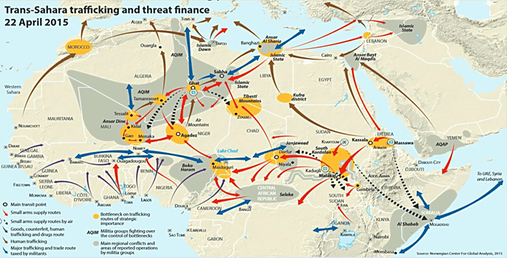 Illicit Trafficking & Threat Networks