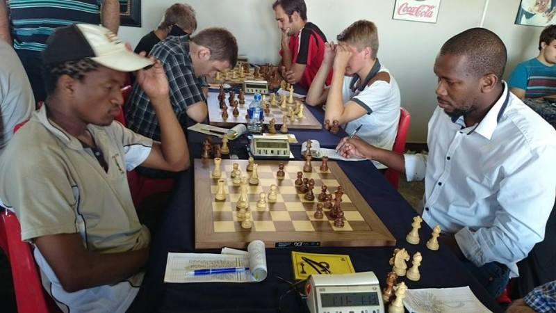 Players in Action at Piet Robbertse (Photo by Fransiena Bekker Grobbelaar)