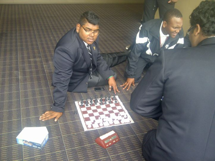 Committed to the game of chess
