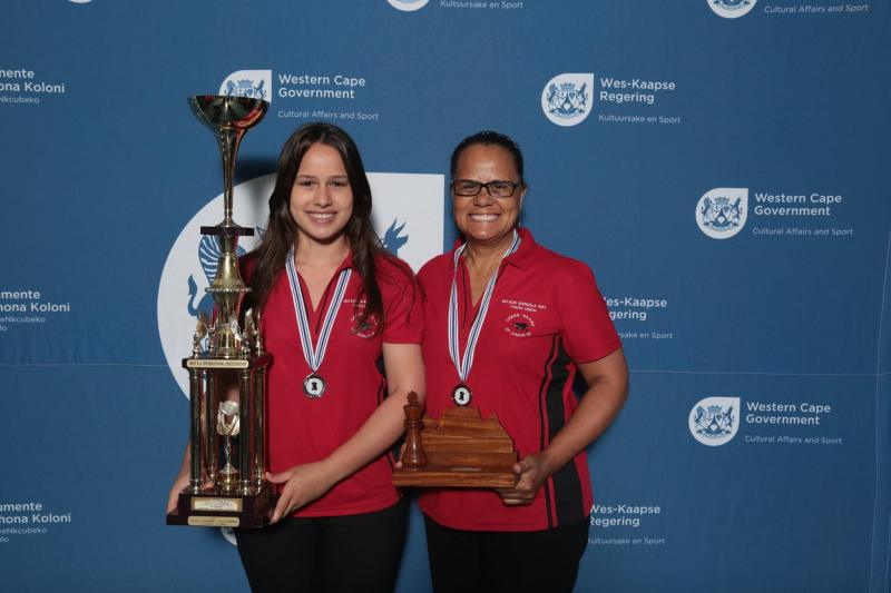 Very proud mom and her super achiever daughter