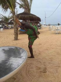 Beach in Togo
