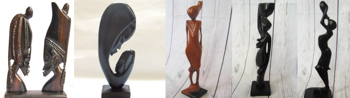 arte africana statuette