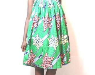 women green dress africadada